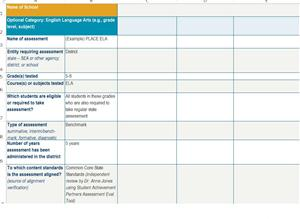 Archive Assessment Inventory Template