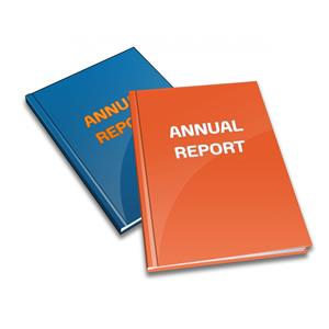 photo of annual reports