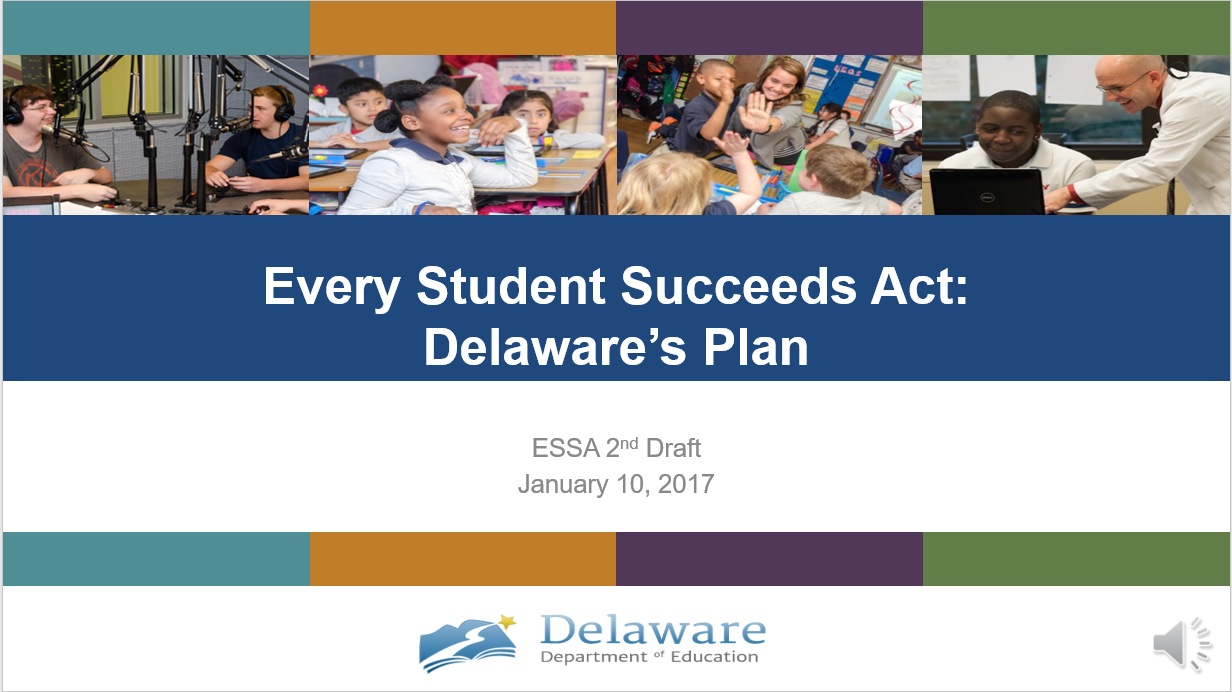 A presentation providing an overview of changes in this ESSA draft from the first draft